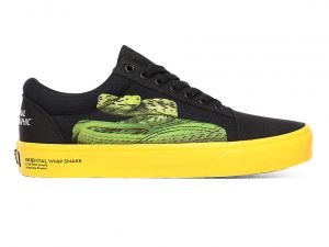 VANS Zapatillas Old Skool Vans X National Geographic ((national Geographic) Photo Ark) Mujer Negro, Talla 36.5