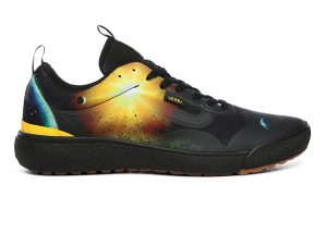 VANS Zapatillas Ultrarange Exo Vans X National Geographic ((national Geographic) Black/yellow) Mujer Negro, Talla 36