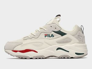 Fila Ray Tracer - Only at JD, Cream/Black/Red