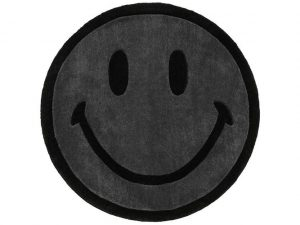Chinatown Market Monochrome Smiley (6 ft) Rug