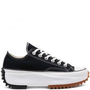 Converse Run Star Hike Low Top Black, White