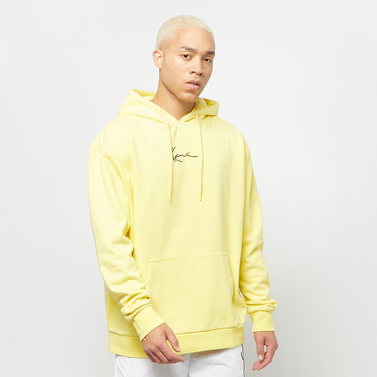 Small Signature Washed Hoodie